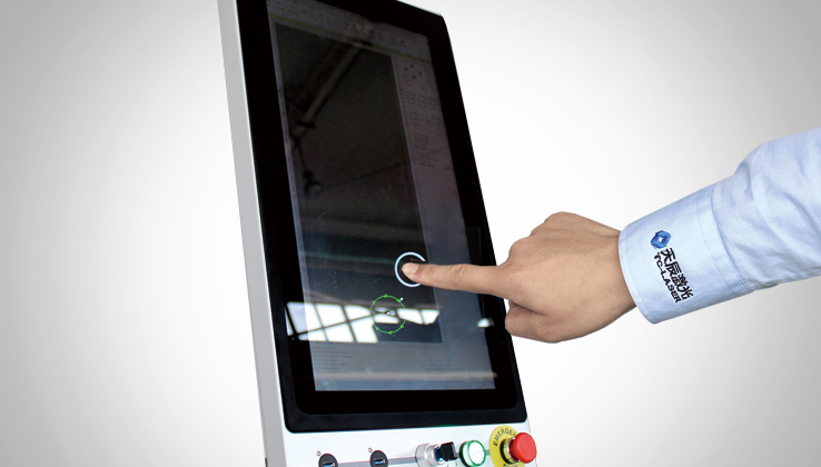 Super touch screen industrial computer