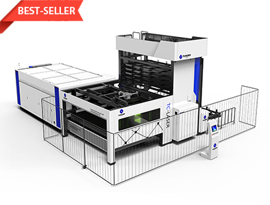 Tower Type Automatic Plate Library Fiber Laser Machine TC-P3015LA